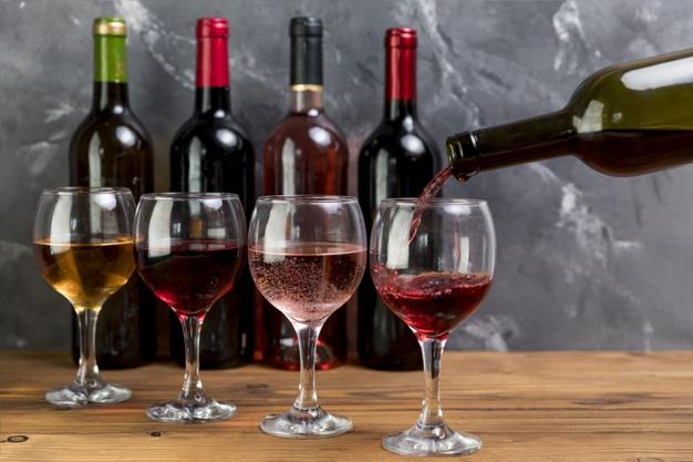 alkoholfri vine
