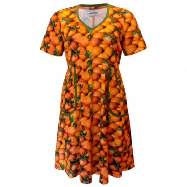 appelsin kjoler i store størrelser